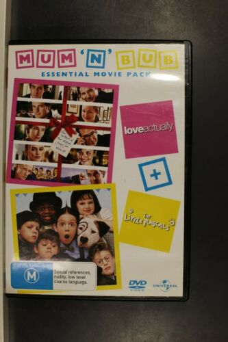 LOVE ACTUALLY + LITTLE RASCALS -  Pre Owned (R4) (D395)