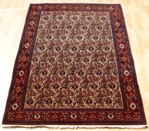 HOME DECORATIVE KURDISH CARPET RUG RECTANGLE RED WOOL 80+ OLD AREA RUGS 5X6ft