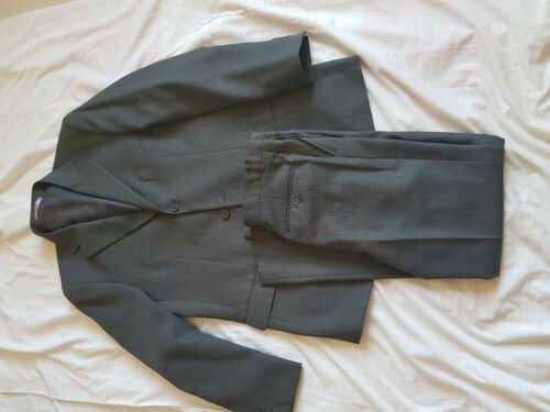"MENS TAYLOR&WRIGHT GREY SUIT   40"" CHEST    32/31 TROUSERS"