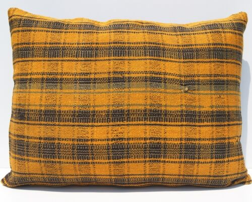 """24""""x18"""" HOME DESIGN PILLOW WOOL RECTANGLE HANDWOVEN TURKISH YELLOW AREA RUGS 20+"""