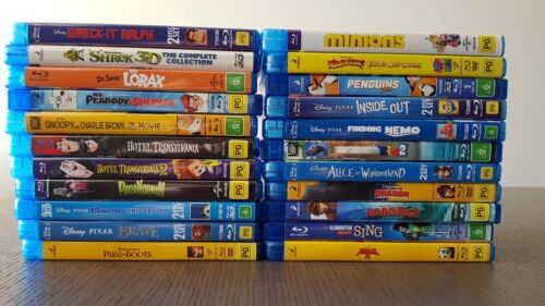 Pre-Owned Blu-rays - Family $3.50 - $9.00