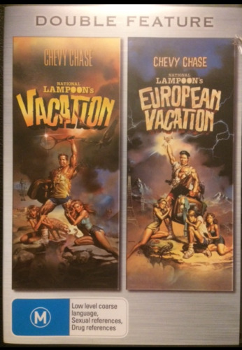 Vacation + European Vacation Region 4   2 x DVD's  Very Good Condition