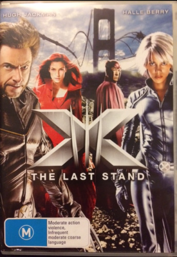 X Men The Last Stand Region 4 DVD Very Good condition