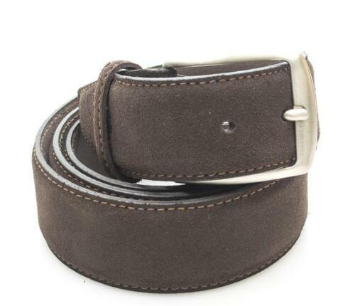 cintura uomo Timberland casual man suede leather belt h cm 4,00 cocoa M4100.968X