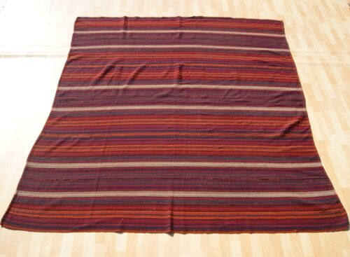 Kurdish kilim rug handmade multi colored square wool kilim rug area rug 7X7ft