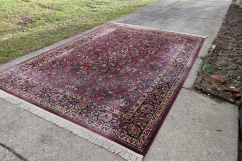 KARASTAN RUG PATTERN #785 RED SAROUK 8.8x12 Made In USA  #84