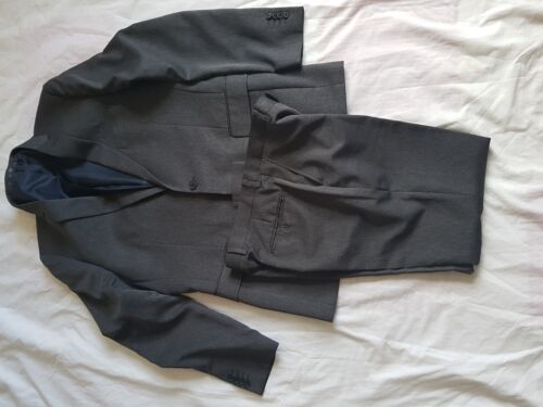 "MENS TAYLOR & WRIGHT CHARCOAL SUIT 42"" CHEST, TROUSERS 34/29"""