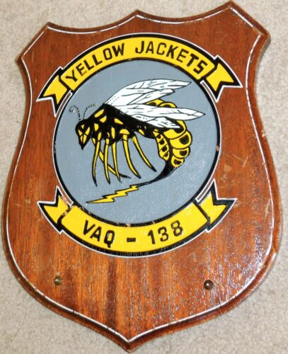 US Navy Electronic Attack Squadron 138 (VAQ-138) Yellow Jackets, Prowler GrowlerOther Militaria - 135