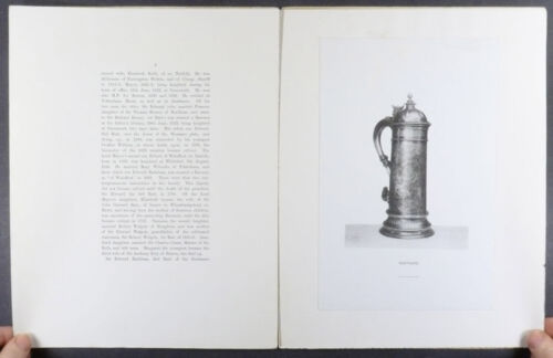 Norfolk County Silver Antique English Sterling - 1895 & 1897 Scholarly Studies
