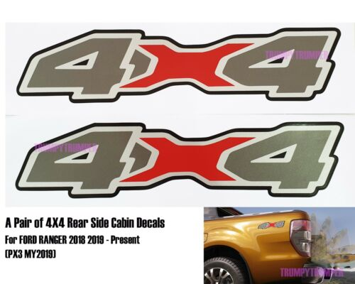 Car & Truck Product Name Decals Red Sticker