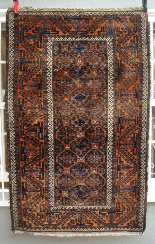 A Great Antique Tribal Belouch Rug