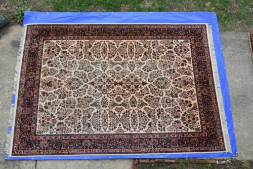Karastan Rug original Collection 700/760 Ivory Sarouk 10x14 Very Nice