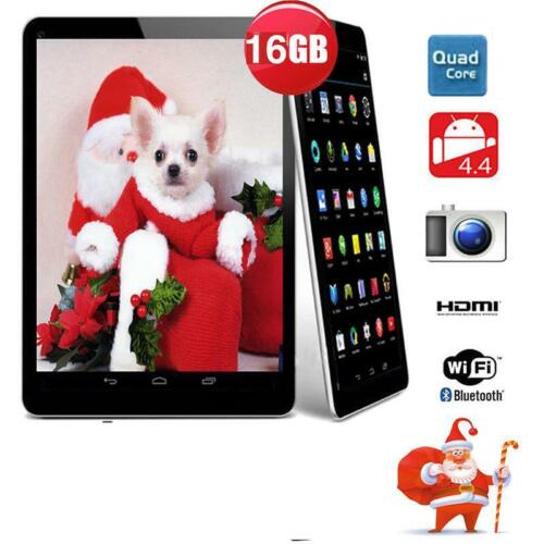 """7"""" Inch Android Tablet 16GB Quad Core Dual Camera Bluetooth Wifi Wireless Tablet"""