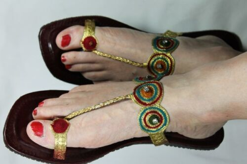 Gorgeous Sandals Hand Crafted Leather Sandals Free Postage
