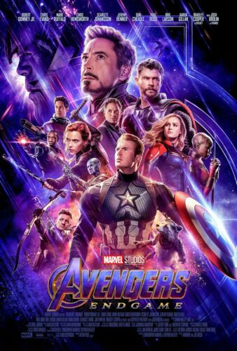 AVENGERS: ENDGAME Theatrical Poster (A1 - A2)
