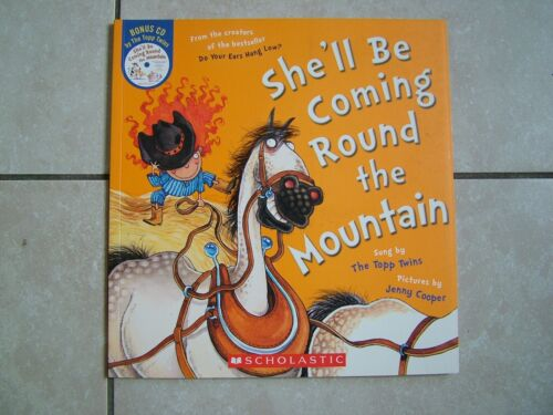 SHE'LL BE COMING ROUND THE MOUNTAIN + CD.  JENNY COOPER.  S/C - NEW  RRP $17.00