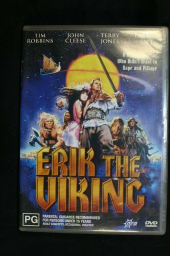 Erik The Viking  -Tim Robins John Cleese -Pre Owned - R4- (D439)