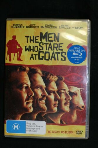 The Men Who Stare At Goats (DVD, 2010) George Clooney -Pre Owned -R4-(D440)