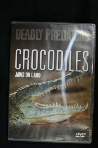 Deadly Predators - Crocodiles (Jaws On Land) - Pre Owned - R4- (D440)