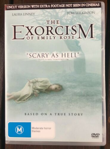 The Exorcism Of Emily Rose (DVD, 2006, R4) - Uncut - Laura Linney, Tom Wilkinson