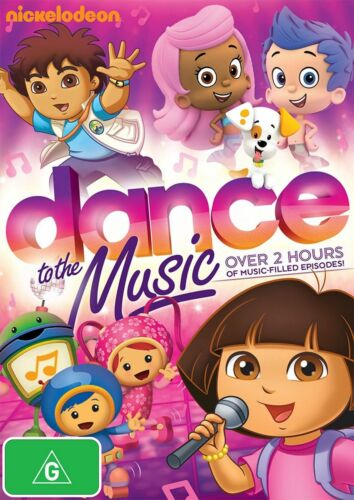 Nickelodeon Dance to the Music - New Sealed - R4 - (D442)