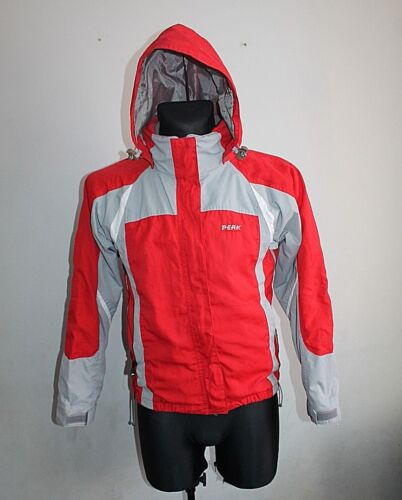 PEAK PERFORMANCE Reptile  Hipe Jacket Womens Gore Tex Grey/Red Size S
