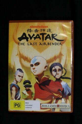 Avatar The Last Airbender Book 2 Earth Volume 3  - Anime  -Pre Owned R4 (D279)