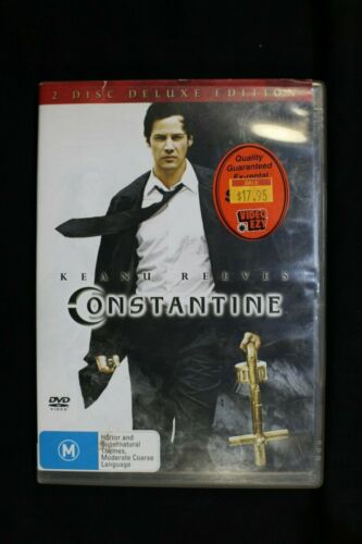 Constantine -Deluxe Edition) Keanu Reeves - Pre Owned R4 (D279)