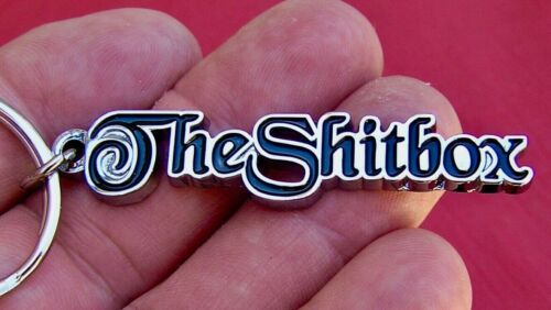 The SHITBOX Keyring - suit Holden Commodore Ford Falcon Valiant Nissan etc