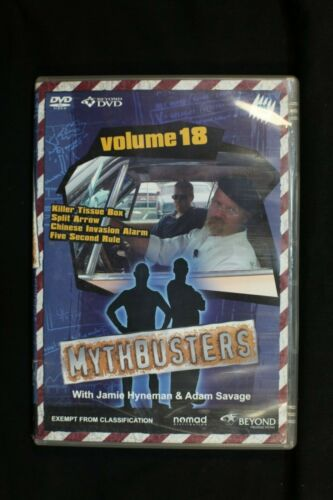Mythbusters - Vol 18 - Pre Owned R4 (D157)
