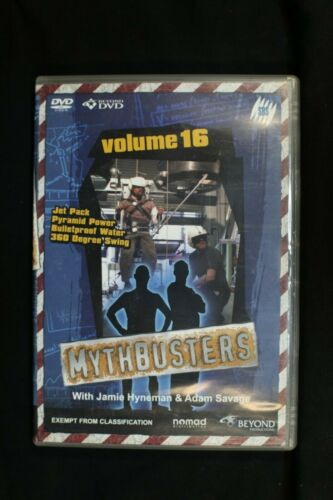 Mythbusters - Vol 16 - Pre Owned R4 (D157)
