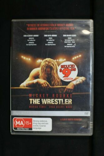 The Wrestler (DVD, 2009) Mickey Rourke, Marisa Tomei  - Pre Owned - R4- (D173)