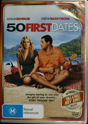 50 First Dates (DVD, 2010)  -Pre Owned R4 (D240)