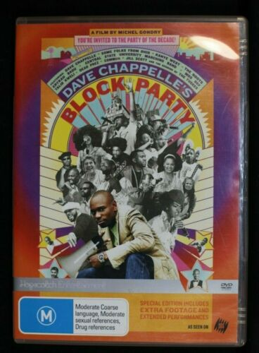 Dave Chapelle's Block Party -  Pre Owned R4  (D262)