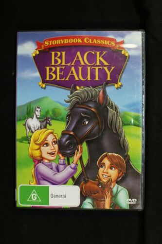 Storybook Classics Black Beauty Childrens Animation Movie- Pre Owned R4 (D100)