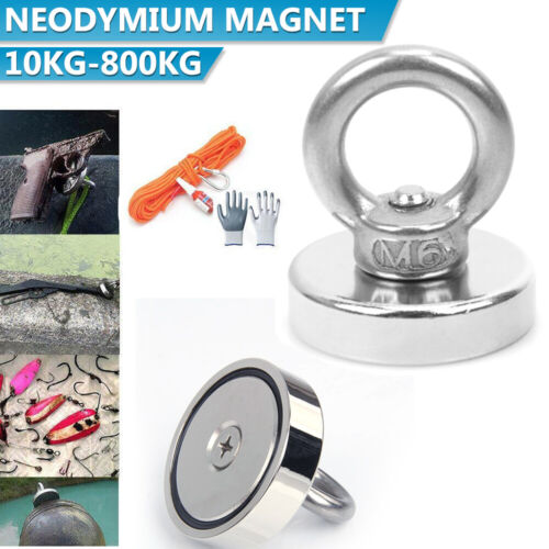 Salvage Magnet Fishing Rare Earth Strong Magnet Neodymium One Side Dual Side