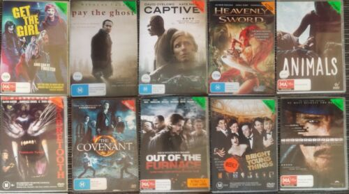 Ex Rental DVD Movies/TV Series Lot 2 - Region 4