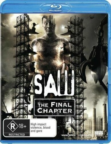 SAW THE FINAL CHAPTER New Blu-Ray CARY ELWES ***