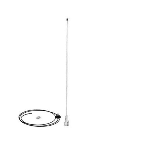 VHF Stainless Steel Antenna 630Mm 108-185Mhz -  Mobile One
