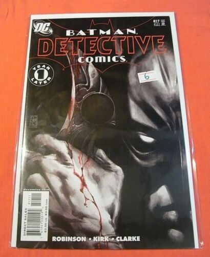 DETECTIVE COMICS #817 - (1937 series)  - bagged & boarded