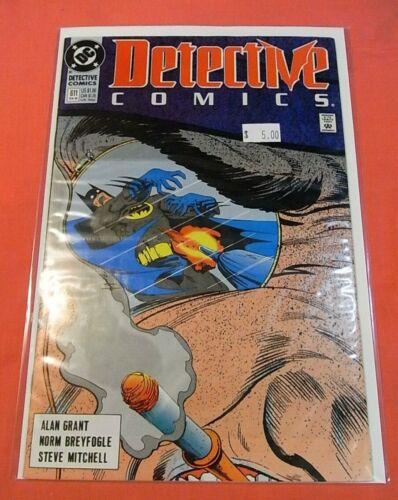 DETECTIVE COMICS #611 - Penguin cover (1937 series)  - bagged & boarded