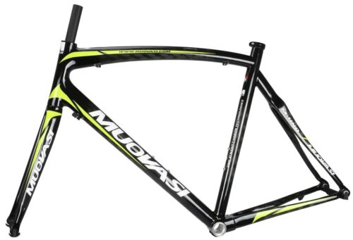 MUOVASI 700C Road Bike Bicycle Cycling Full Carbon Frame 12K With Fork 56cm