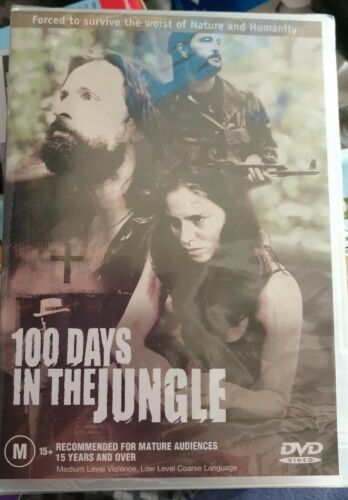 100 DAYS IN THE JUNGLE Brand New and sealed Free Postage