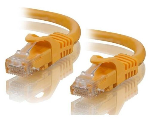 Alogic Ethernet Network Cable Patch Lead CAT6 1000Mbps 5M Five Meters Orange