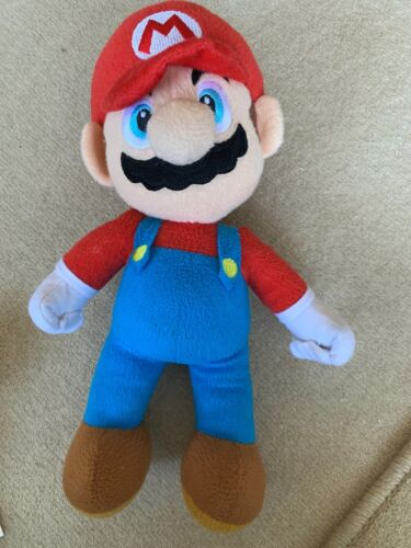MARIO. Super Mario Bros Plush 20cm  By Nintendo 2009 In Good  Used Condition