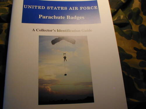 USAF Parachute Jump Badges Illustrated Collector Guide 1956-1963 Air Force wingsOther Militaria - 135