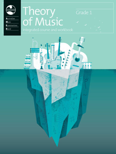 AMEB Theory of Music Integrated Course & Workbook - Grade 1 - Brand new