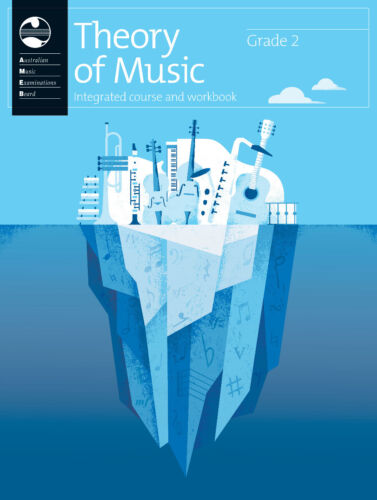 AMEB Theory of Music Integrated Course & Workbook - Grade 2 - Brand new