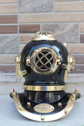 "6"" U.S Navy Antique Mini Diving Divers Helmet Solid Brass Maritime Replica"