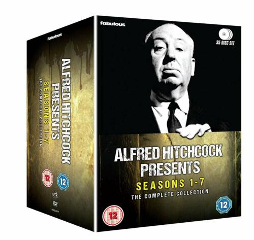ALFRED HITCHCOCK PRESENTS COMPLETE SERIES COLLECTION 1-7 DVD BOX SET 35 DISC NEW